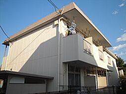 東京都日野市豊田4丁目の賃貸マンションの外観