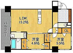 KSK門司コアプレイス[6階]の間取り