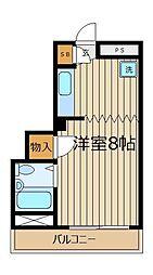 レジデンス三上[3階]の間取り
