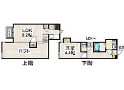 CB 次郎丸 GRAN[2階]の間取り