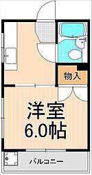 田中マンション[101号室]の間取り