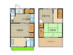 [一戸建] 東京都豊島区池袋本町3丁目 の賃貸【/】の間取り