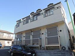 東京都町田市木曽東3の賃貸アパートの外観