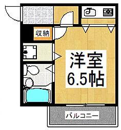 メゾン和田[1階]の間取り