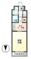 Lani Kai Park(ラニカイパーク)[8階]の間取り
