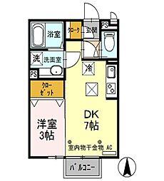 ISHIKAWA HILLS VII[1階]の間取り