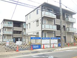 埼玉県戸田市新曽南1丁目の賃貸アパートの外観
