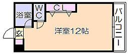 メゾンフジヨシ[107号室]の間取り
