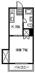 プチメゾン江平東[205号室]の間取り