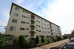 神陵台東住宅52号棟[4階]の外観