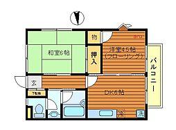 東京都武蔵野市吉祥寺本町1丁目の賃貸アパートの間取り