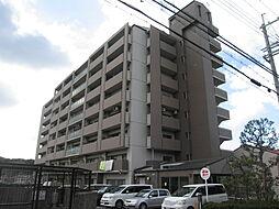 大阪府四條畷市岡山4丁目の賃貸マンションの外観