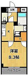 仮称)LOCUS1 南武庫之荘1丁目新築[203号室]の間取り