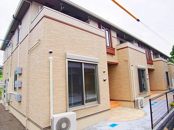 広島県安芸郡熊野町初神2丁目の賃貸アパートの外観