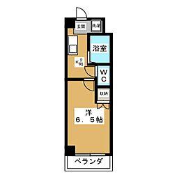 ファリオ四条[6階]の間取り