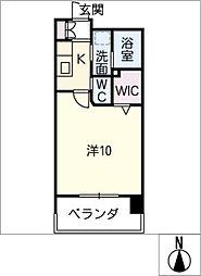 La Vita Nagoya[5階]の間取り