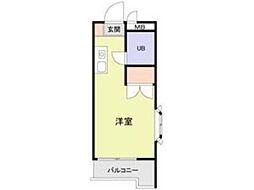 メイプルハウス町田[4階]の間取り