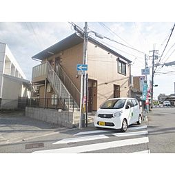 大阪府交野市星田3丁目の賃貸アパートの外観