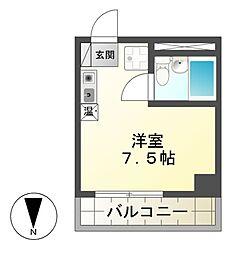 第47プロスパー(ゴトウ888ビル)[7階]の間取り