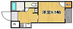エヌズコート[4階]の間取り