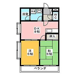 桜花林[1階]の間取り