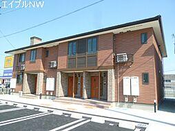 三重県松阪市大塚町の賃貸アパートの外観