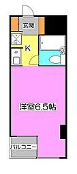レヂオンス清瀬[3階]の間取り