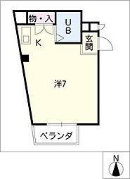 名藤マンション[3階]の間取り