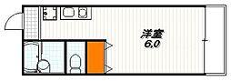 庵里カマンザ[2階]の間取り