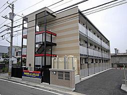 レオパレスメルベーユ昭和[102号室]の外観