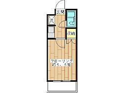 リエス中野島[3階]の間取り