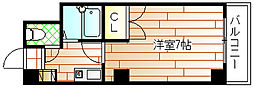 豊新芙蓉ハイツ[2階]の間取り