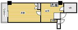 新潟県新潟市中央区弁天3丁目の賃貸マンションの間取り