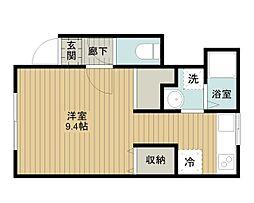ネクステージ文京台[2階]の間取り