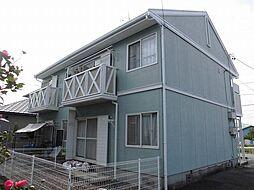 愛知県安城市横山町八左の賃貸アパートの外観