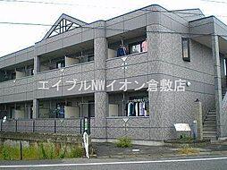 岡山県倉敷市片島町の賃貸マンションの外観