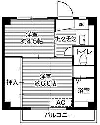【敷金礼金0円!】ビレッジハウス滝呂3号棟
