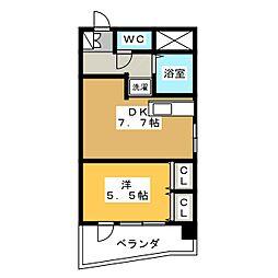 ライオンズマンション丸の内第6[11階]の間取り