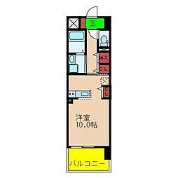 エトワール・フィクス[4階]の間取り