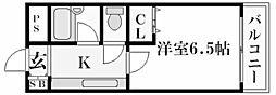 ステラハウス23[3階]の間取り