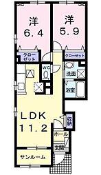 仮)宿町アパート[1階]の間取り