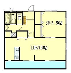 TNマンションIII[1階]の間取り