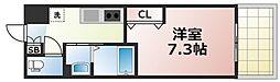 Osaka Metro千日前線 今里駅 徒歩5分の賃貸マンション 9階1Kの間取り