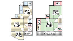 [一戸建] 兵庫県神戸市垂水区西舞子5丁目 の賃貸【/】の間取り