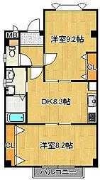 タムラビル[1階]の間取り