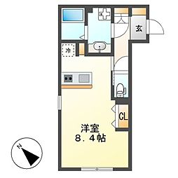 WELL COURT KANDA[5階]の間取り