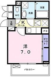COCORO[2階]の間取り