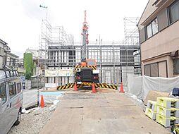 東京都足立区本木1丁目の賃貸アパートの外観