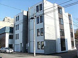 北海道札幌市豊平区平岸二条1の賃貸マンションの外観