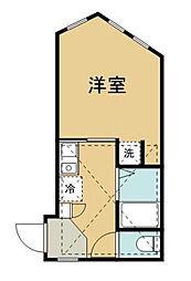 Casa DelMare[D号室]の間取り